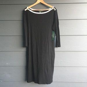 NWT-Lauren Ralph Lauren Long Sleeve Dress